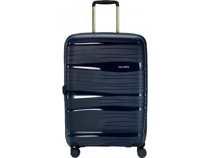 169888 10 cestovni kufr travelite motion 4w m navy