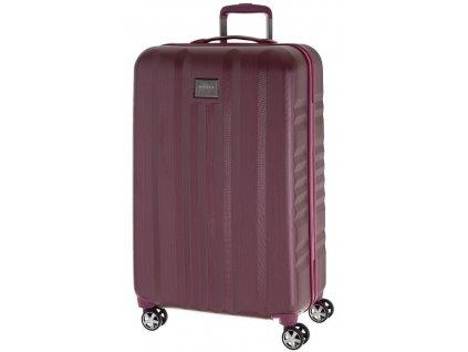 166768 7 cestovni kufr yearz fly l burgundi brushed