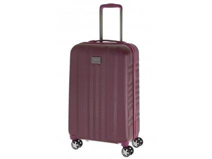 166756 7 cestovni kufr yearz fly m burgundi brushed