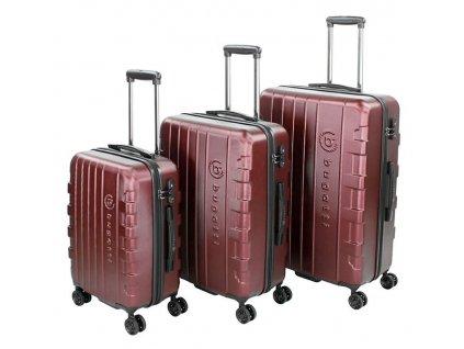 170737 1 cestovni kufry set 3ks bugatti galatea s m l red