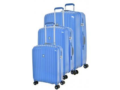 170716 1 cestovni kufry set 3ks dielle s m l blue