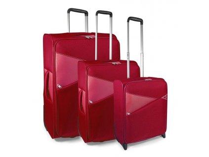 170809 1 cestovni kufry set 3ks modo thunder s m l 2w red