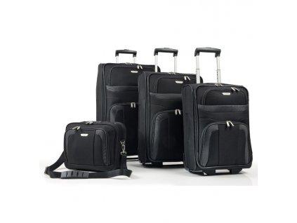 170893 1 cestovni kufry set 4ks travelite orlando s m l b black