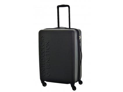 173512 6 cestovni kufr benetton ucb 4w m cerna