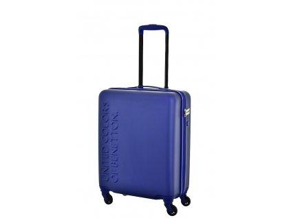 173491 6 cestovni kufr benetton ucb 4w s modra