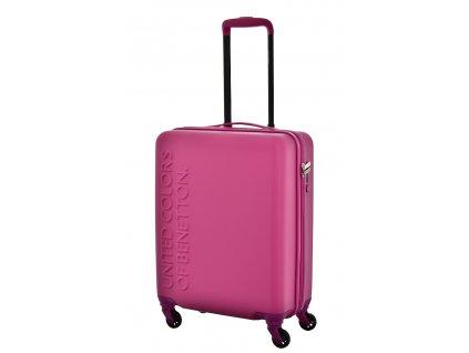173494 7 cestovni kufr benetton ucb 4w s fuchsie