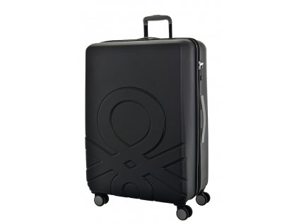 173551 6 cestovni kufr benetton ultra logo l cerna