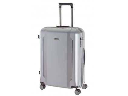 166741 6 cestovni kufr d n m stribrna
