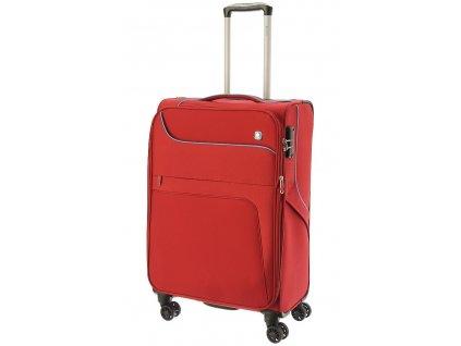 167608 7 cestovni kufr dielle 4w m cervena