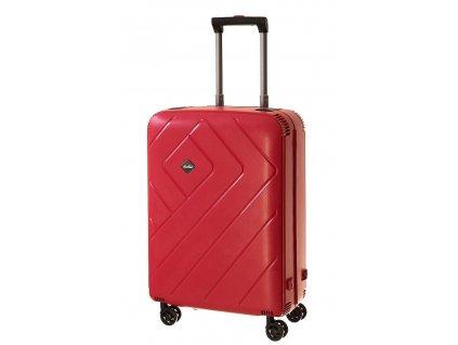 165292 6 cestovni kufr dielle m cervena