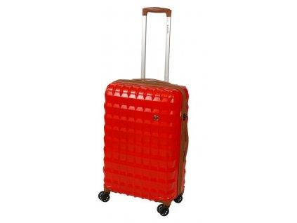 167119 6 cestovni kufr dielle pp m cervena