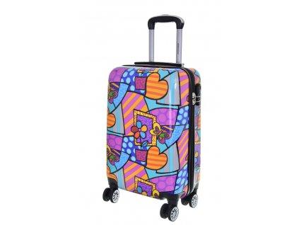 175771 7 cestovni kufr madisson 4w abs s multicolor