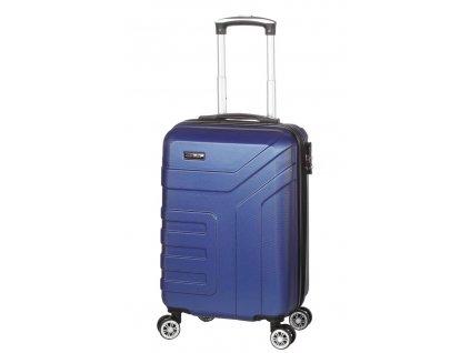 174373 4 cestovni kufr madisson 4w abs s modra
