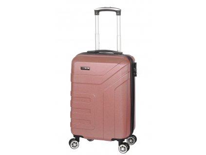 174385 4 cestovni kufr madisson 4w abs s zlata