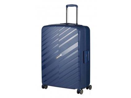 175840 7 cestovni kufr march bon voyage l tmave modra