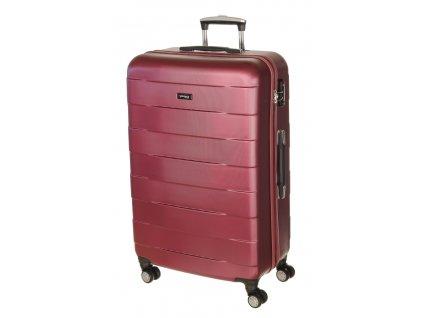 163786 9 cestovni kufr march bumper l raspberry