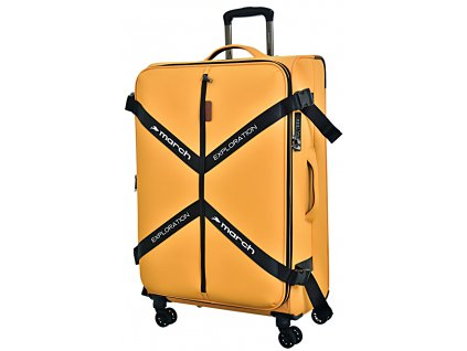 173065 8 cestovni kufr march exploration l zluta