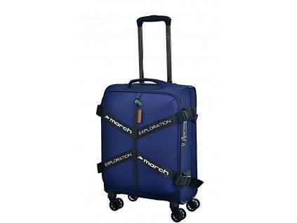 173044 9 cestovni kufr march exploration s modra