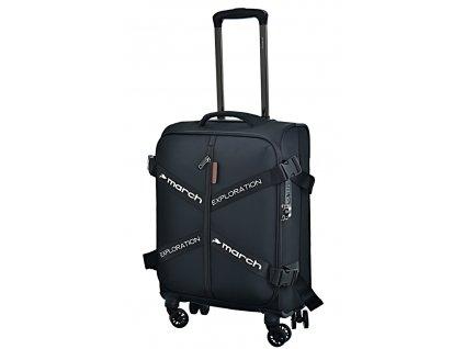 173047 8 cestovni kufr march exploration s cerna