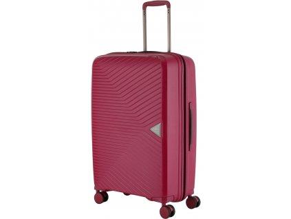 167146 5 cestovni kufr march gotthard m wine red