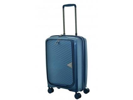 174649 8 cestovni kufr march gotthard se s potisk modra