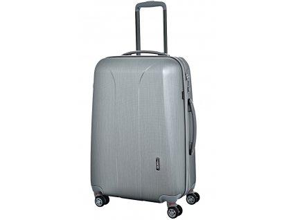173440 7 cestovni kufr march new carat se m stribrna