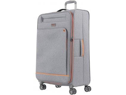 167542 4 cestovni kufr march shorttrack l grey orange