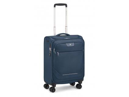 175582 12 cestovni kufr roncato joy 4w s usb modra