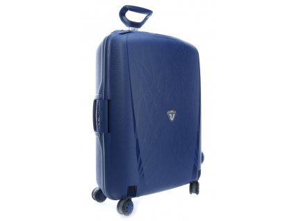 165418 4 cestovni kufr roncato light l modra