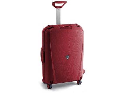 164269 2 cestovni kufr roncato light m cervena