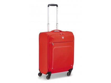 174748 8 cestovni kufr roncato lite plus 4w s cervena