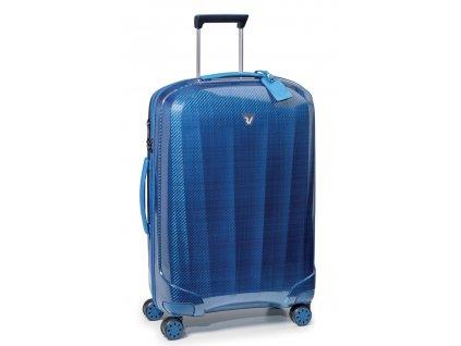 171136 10 cestovni kufr roncato we are 4w m blue