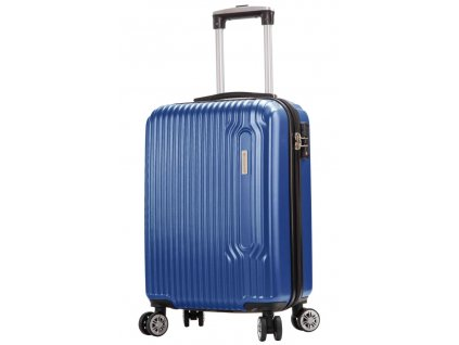 173695 5 cestovni kufr snowball 4w abs s modra