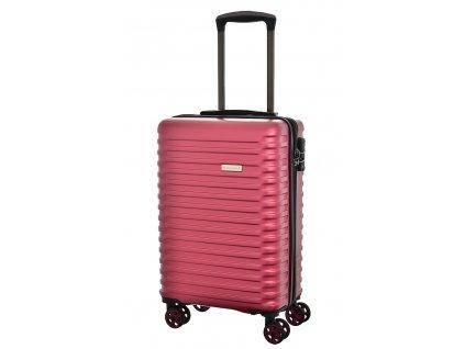 173590 7 cestovni kufr snowball 4w abs s cervena