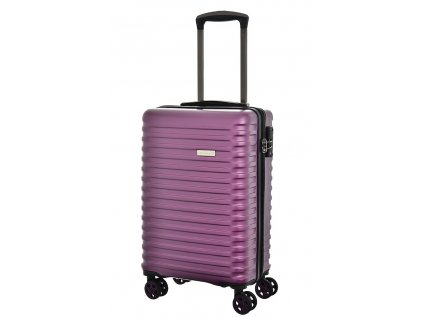 173593 7 cestovni kufr snowball 4w abs s fialova