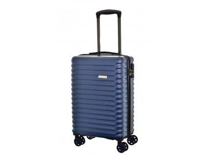173596 7 cestovni kufr snowball 4w abs s modra