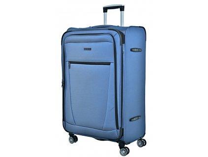 173020 7 cestovni kufr snowball 4w l modra