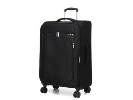 176575 9 cestovni kufr snowball 4w m cerna