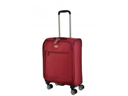 174289 6 cestovni kufr snowball 4w s cervena