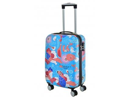 168595 6 cestovni kufr snowball pc 4w s multicolor