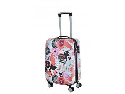 168598 6 cestovni kufr snowball pc 4w s multicolor