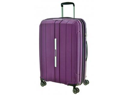 169015 7 cestovni kufr snowball pp 4w m purple