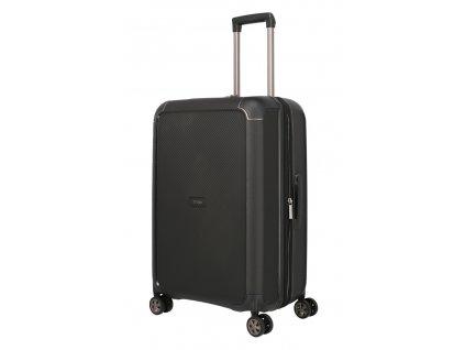 172867 7 cestovni kufr titan compax 4w m exp cerna