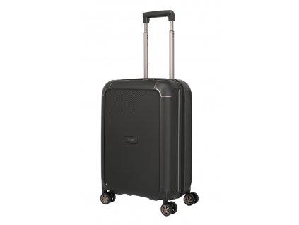 172876 6 cestovni kufr titan compax 4w s usb cerna