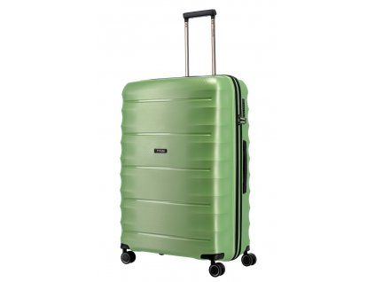 177403 11 cestovni kufr titan highlight 4w l zelena