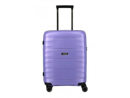 177418 6 cestovni kufr titan highlight 4w s fialova