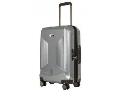 169558 4 cestovni kufr titan juno 4w s stribrna