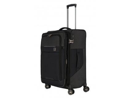 174514 8 cestovni kufr titan prime 4w m cerna