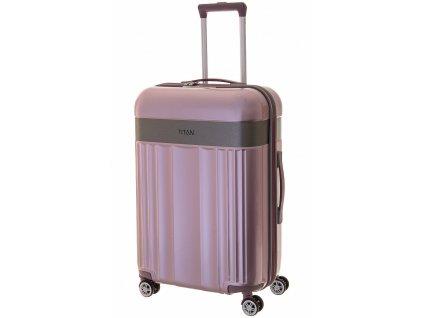168154 7 cestovni kufr titan spotlight flash 4w m rose