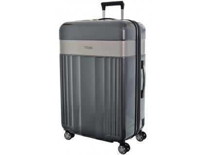 174556 7 cestovni kufr titan spotlight polykarbonat l antracitova